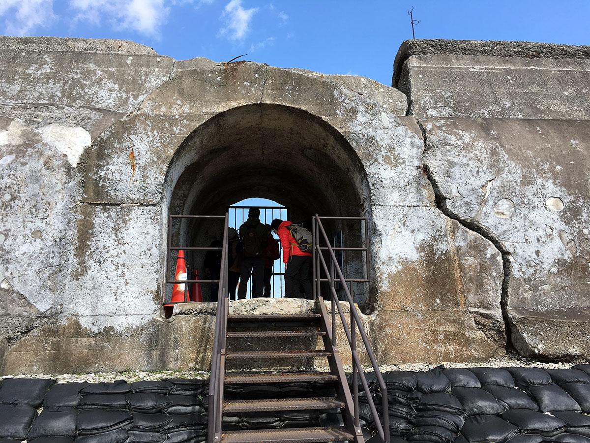 東京湾第三海堡遺構の見学